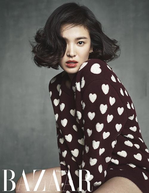 Song Hye Kyo pour Harper's Bazaar