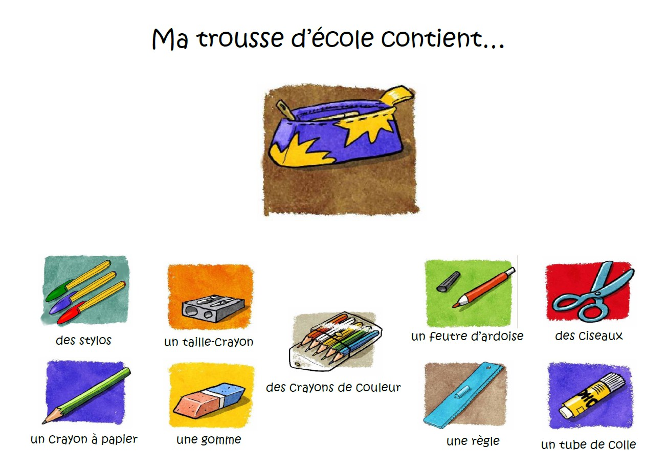 Check-up... de ma trousse d'école !
