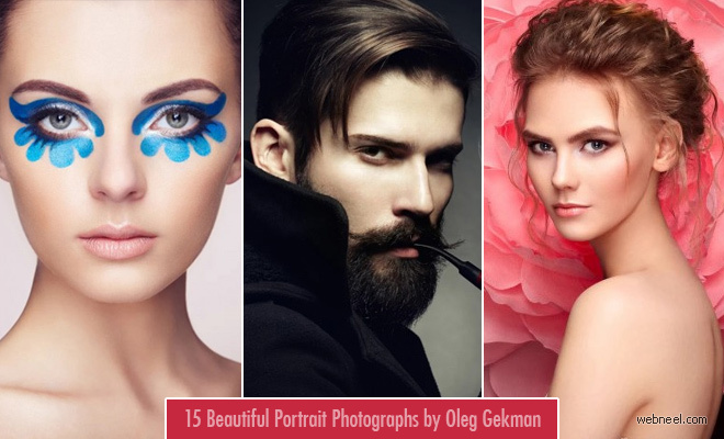 15 Beautiful Portrait Photography ideas by Russian fashion industry photographer Oleg Gekman