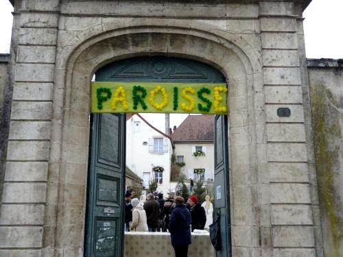 Les stands culturels  de la Saint Vincent Tournante