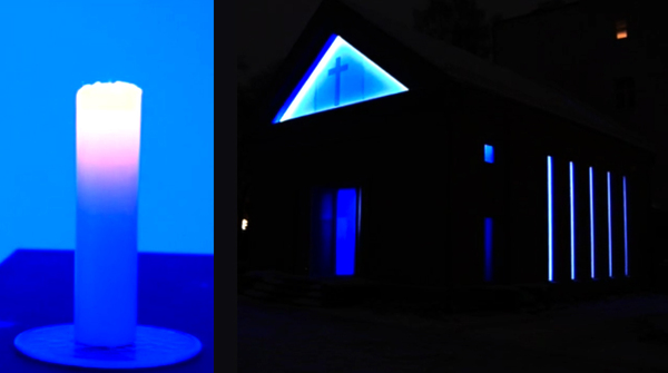 LIEUX CULTES–LIEUX ARTS,Turrell James,Kapelle,Chapelle,Berlin,Video,Lotto-Stiftung