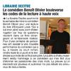 Article 07 Novembre 2018 Lecture Qui a tué mon père Le Dauphiné Libéré