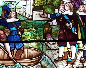 Champlain quitte Honfleur