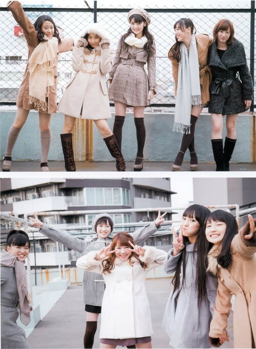 "Apparition de Morning Musume'14 dans ""Girl POP"" et ""B.L.T.U-17 Vol.29"""