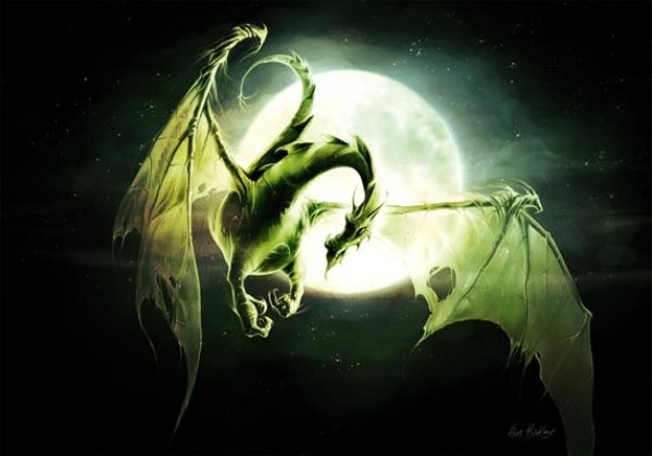 carte-postale-dragon-lune-de-elian-black-mor-coll-les-dragons