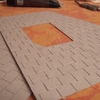 tech. de féerie:on trace au crayon, puis cutter les tuiles
