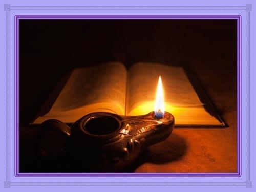 Ta parole est une lampe à mes pieds