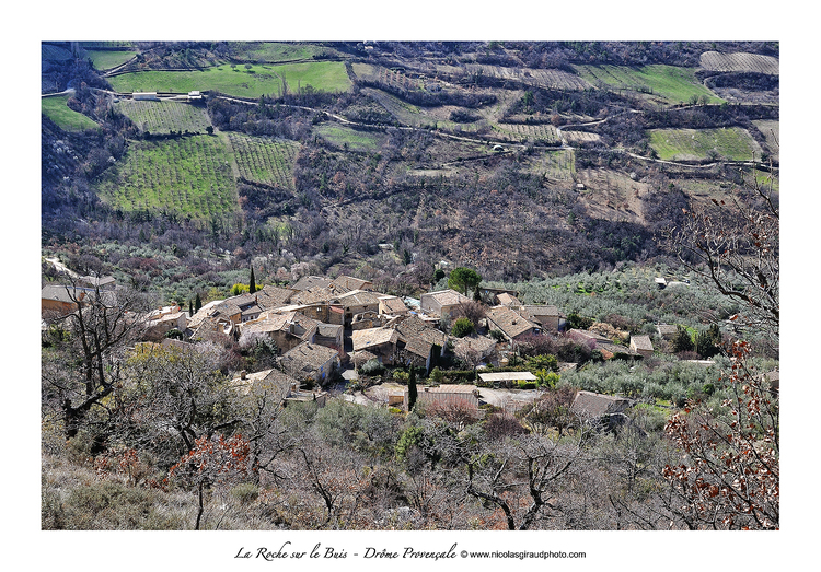 Poët en Percip à la Roche sur le Buis, villages du bout du monde