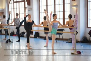 dance ballet class photography by ash
