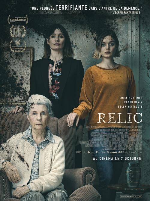 [Bande-annonce] RELIC : le film d'horreur avec Emily Mortimer qui a séduit Sundance et L'Étrange festival - Le 7 octobre 2020 au cinéma