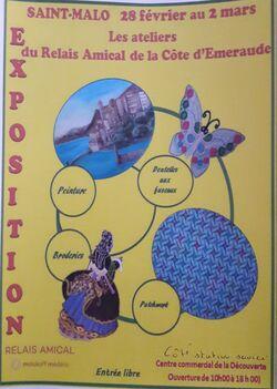 Exposition à Saint-Malo