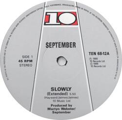 September - Slowly