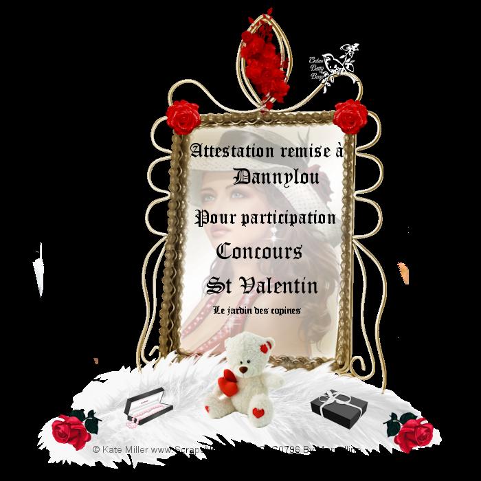 ma participation au concours St Valentin du forum