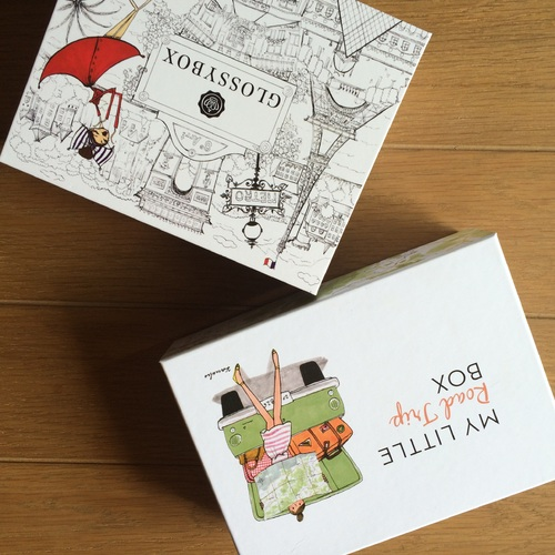 My Little Box VS Glossybox le match de juillet 2015