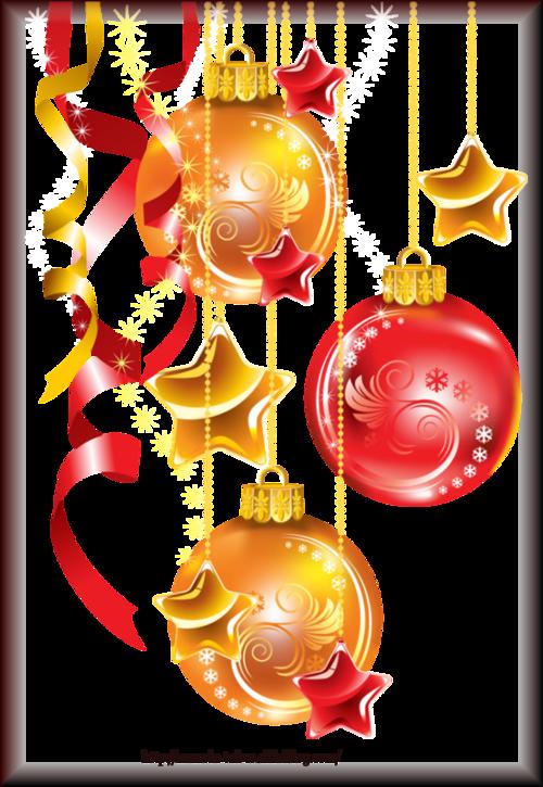 Tube Boule de Noël 2971
