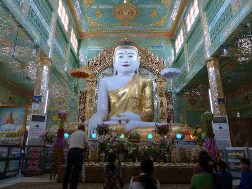 la pagode Soon U Ponnya Shin à Saraing