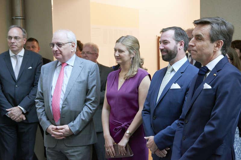 Inauguration de l'exposition « Du Portugal au Luxembourg »