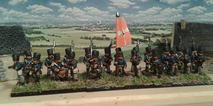 Dernière unité d'infanterie pour Tactique 1814