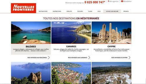 Nouvelles frontières/Voyages et circuits/Méditerranée