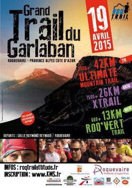 Dimanche 19 avril Trail de Garlaban