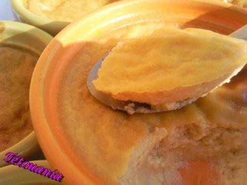 crème oeuf pâte de spéculos