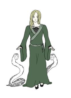 Celle qui parle aux serpents