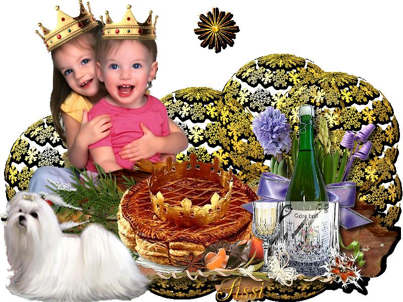 * galette des Rois  * Atelier Baboucka *