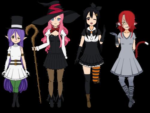 [Miliana,Gaya,Sekai & Lilly] Halloween