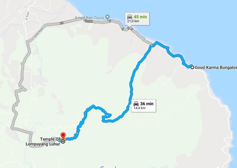4 Août 2018 - Une nouvelle route vers le temple de Lempuyang