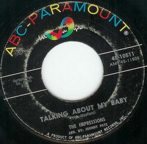 1963 : Single SP ABC Paramount Records 10511 [ US ]