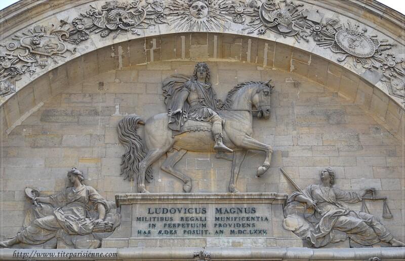 La façade nord de l'Hôtel des Invalides