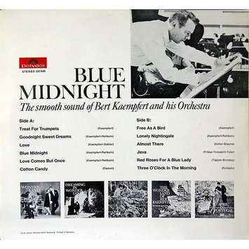 bert kaempfert, blue midnight