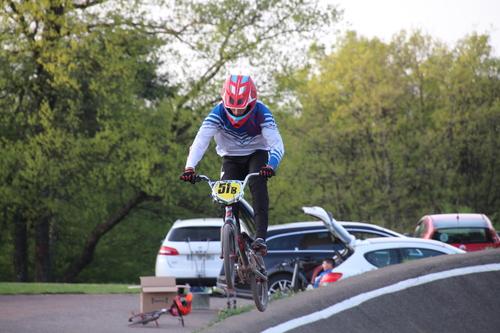 entrainement BMX  Mandeure 24 avril 2018