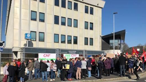 Brest. Centres sociaux: manifestation devant la CAF contre le projet de gestion associative (OF.fr-26/02/19- 18h05)