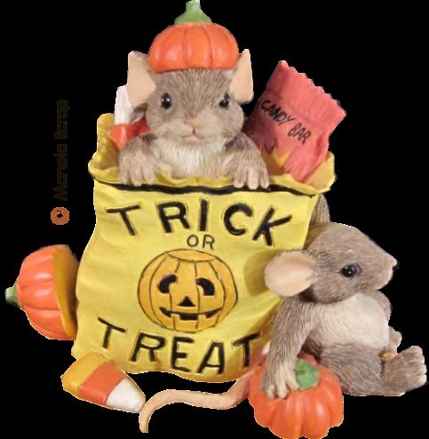 les petites souris d'Halloween