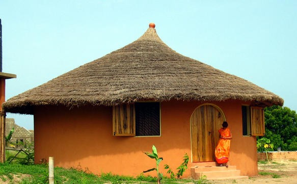 Cottage at Langma Beach, Ghana