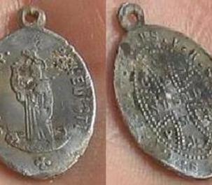 Médaille de Saint Benoit dite du sorcier 19ème