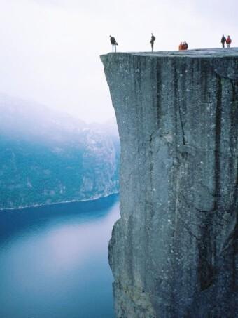 Pulpit Rock, Preikestolen, Norvège