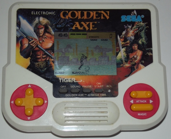 jeux elec tiger golden axe