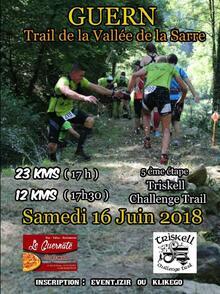 Trail de la Vallée de la Sarre - Guern - Samedi 16 juin 2018