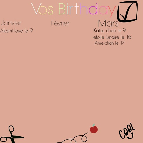 Vos birthday
