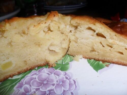 *** Gâteau aux pommes façon grand-mère ***