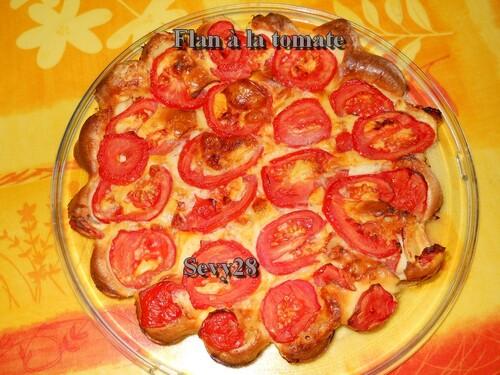 Flan à la tomate