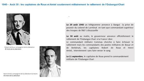 * Ephemeride : Le général de Gaulle et la France Libre - L'Année 1940