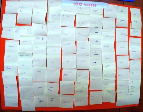 100 verbes