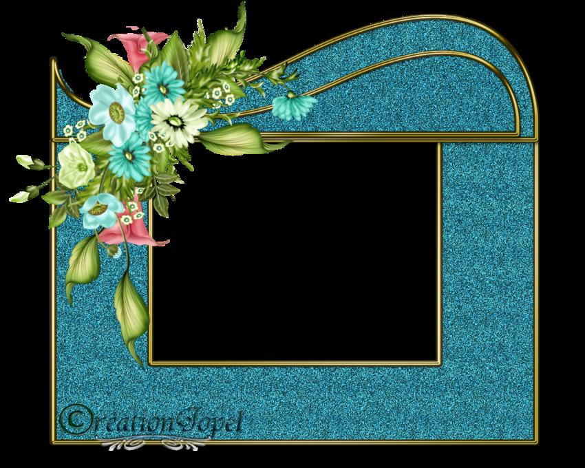 kit fleuris bleu par Jopel