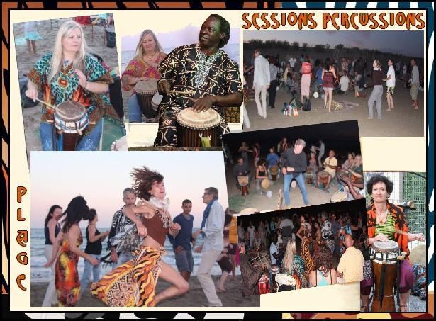 ★ Sessions Djembés & Sabars [Parcs & Plages]