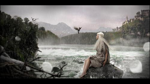 Scène Nature Fantasy avec Photoshop