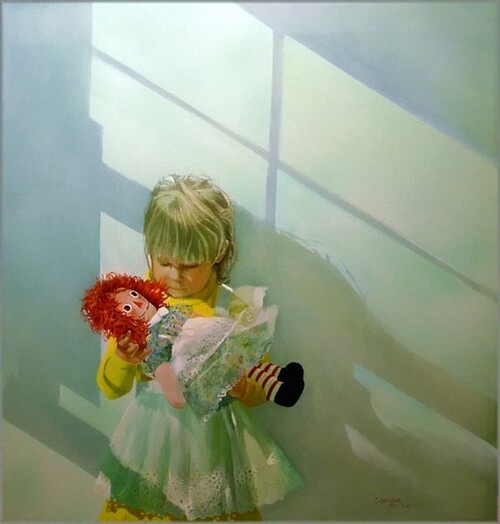 Peinture de : Carolyne Blish