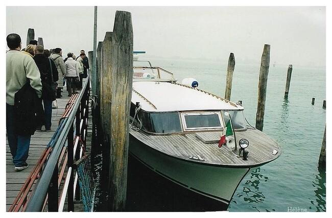 Arrivée à Venise